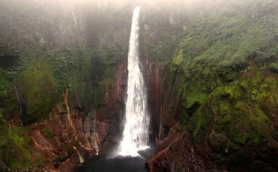 Costa Rica Bajos del Toro Hiking Trail